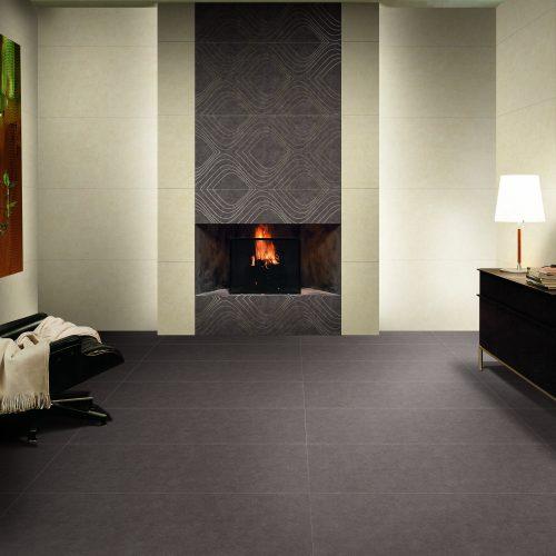 Wohnzimmer Fliesen - Fliesen Material Porcela Bobo