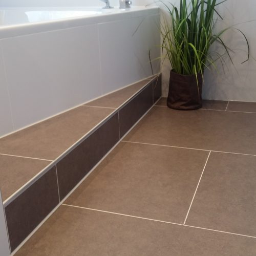 Badezimmerboden - Fliesen Material Porcela Bobo